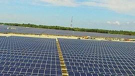 Khánh thành nhà máy điện mặt trời 35MW đầu tiên ở Việt Nam ảnh 1