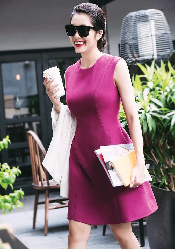Chỉ mặc giản dị, Tăng Thanh Hà vẫn đẹp rạng rỡ và tươi trẻ ở tuổi 33 Ảnh 9