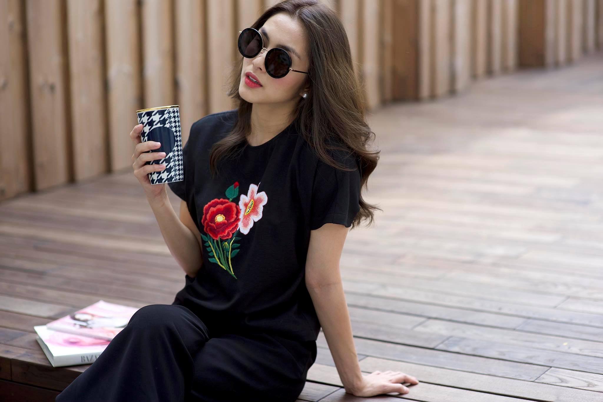 Chỉ mặc giản dị, Tăng Thanh Hà vẫn đẹp rạng rỡ và tươi trẻ ở tuổi 33 Ảnh 14