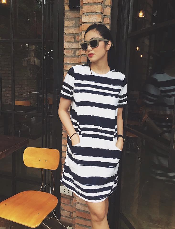 Chỉ mặc giản dị, Tăng Thanh Hà vẫn đẹp rạng rỡ và tươi trẻ ở tuổi 33 Ảnh 3