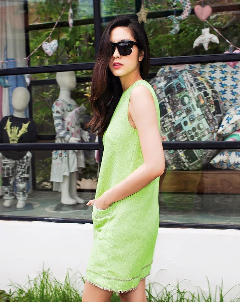 Chỉ mặc giản dị, Tăng Thanh Hà vẫn đẹp rạng rỡ và tươi trẻ ở tuổi 33 Ảnh 11