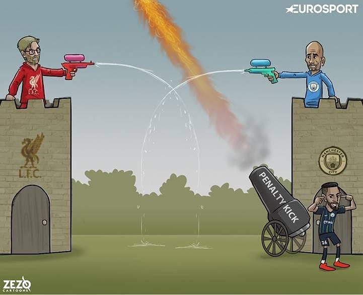 Biếm họa 24h: Liverpool, Man City cầm chân nhau, Chelsea hưởng lợi Ảnh 2
