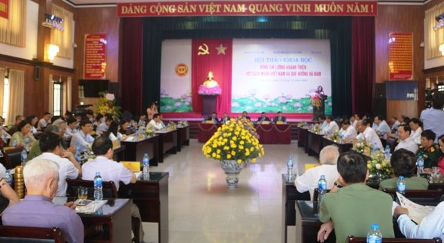 Hội thảo đồng chí Lương Khánh Thiện với cách mạng Việt Nam và quê hương Hà Nam Ảnh 1