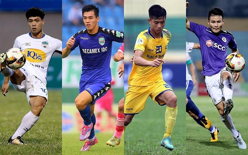 BXH 'Vua phá lưới nội' V-League 2018: U23 Việt Nam làm nên top 3 Ảnh 1