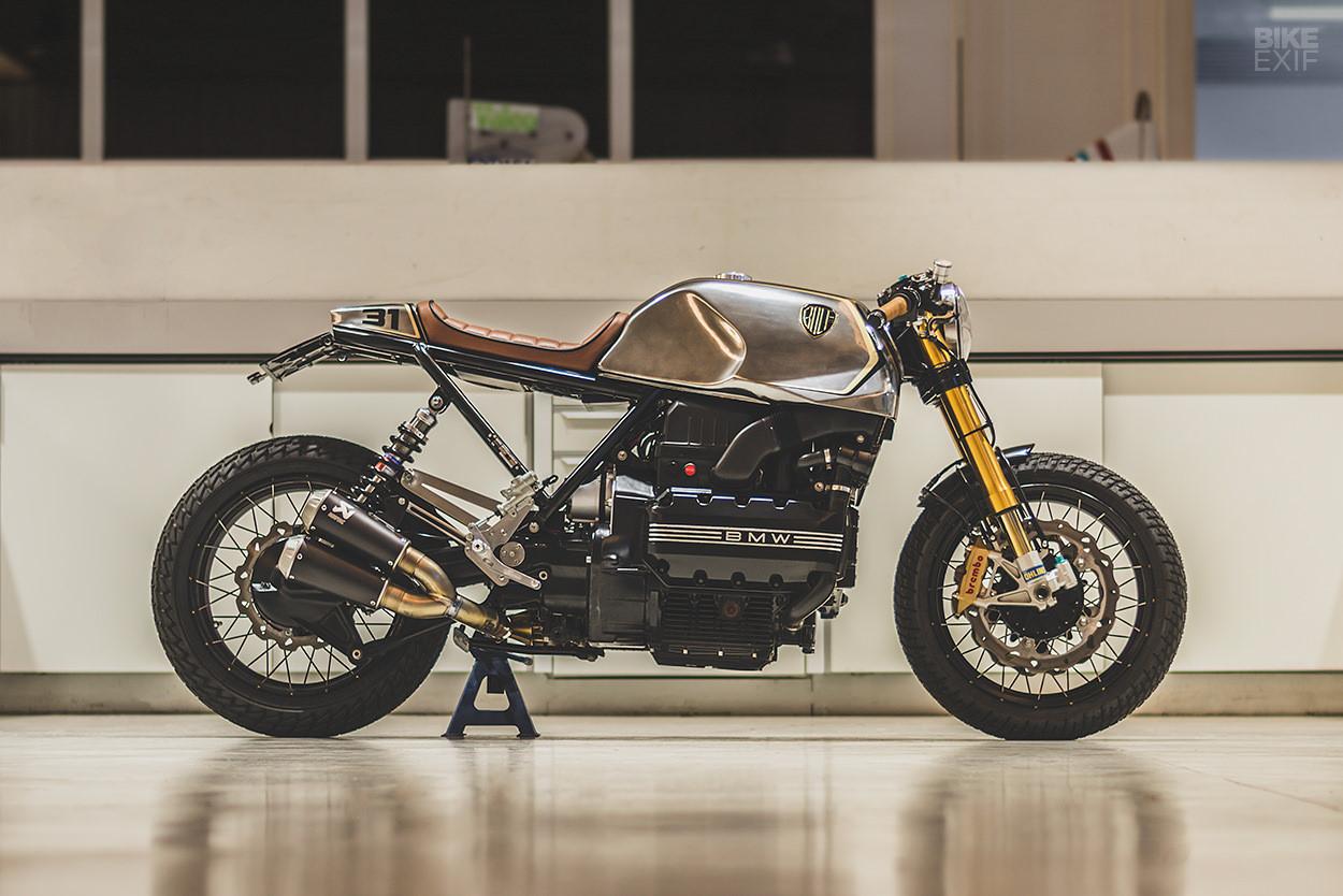 Mẫu độ BMW K100 Cafe racer mới nhất từ Bolt Motor Ảnh 1