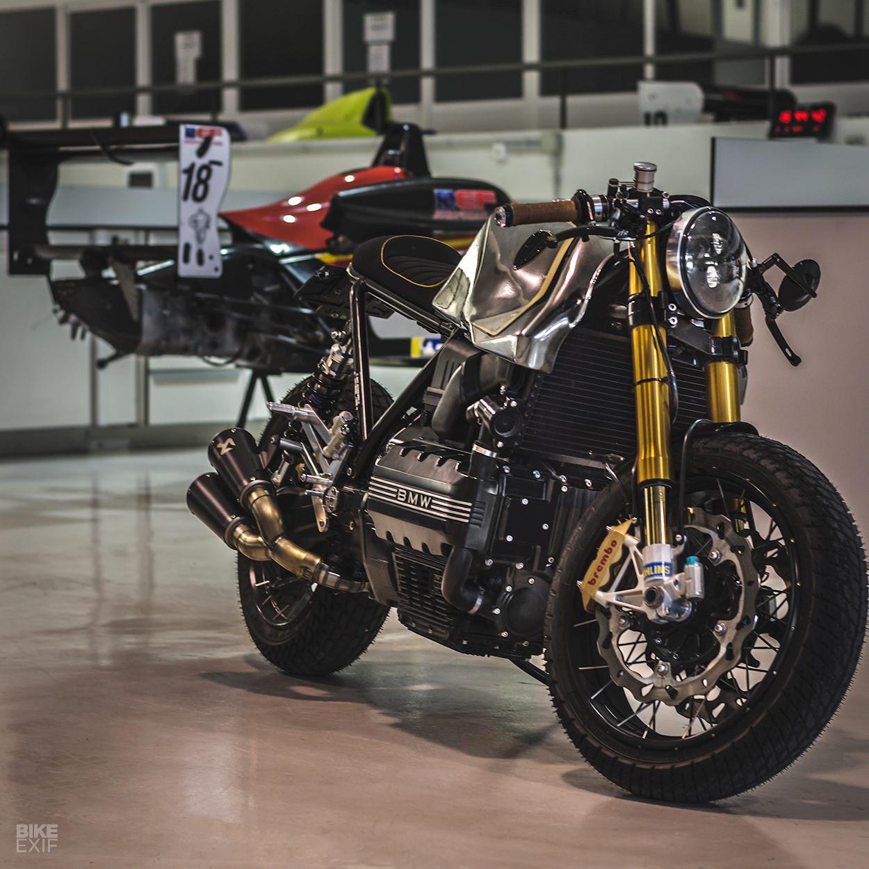 Mẫu độ BMW K100 Cafe racer mới nhất từ Bolt Motor Ảnh 10