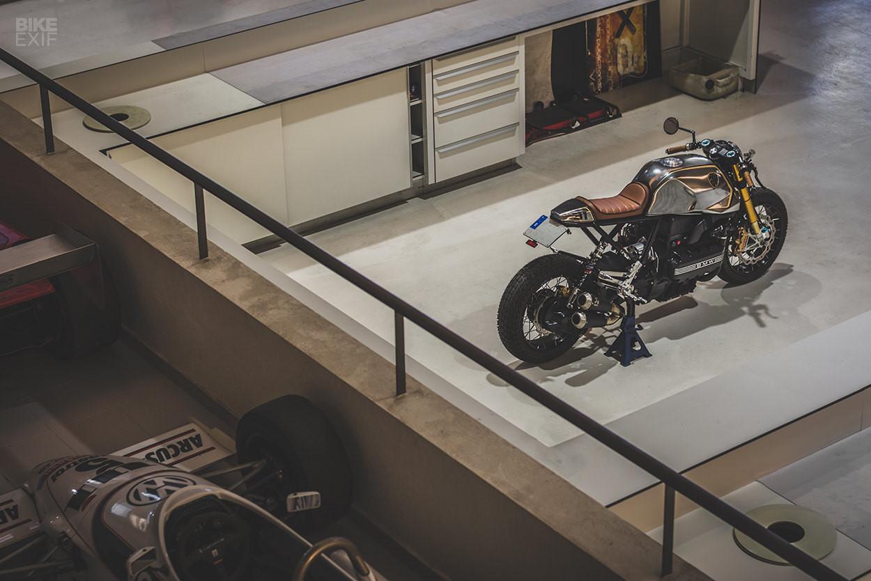 Mẫu độ BMW K100 Cafe racer mới nhất từ Bolt Motor Ảnh 11