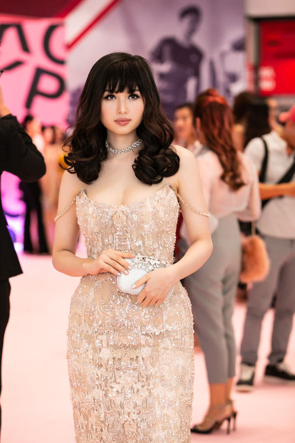 Hồ Ngọc Hà sang trọng với váy Dolce Gabbana Đàm Vĩnh Hưng tặng Ảnh 6