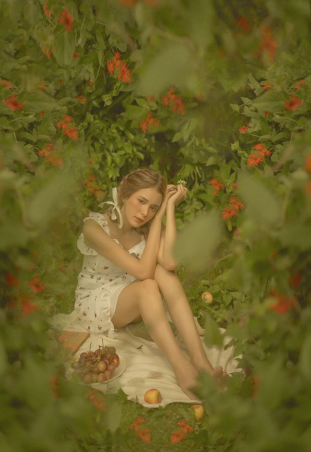 Vào thu đầy mộng mơ với cô gái Đà Lạt xinh như búp bê phương Tây Ảnh 10