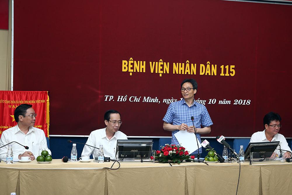 Phó Thủ tướng thị sát công tác chống dịch tay chân miệng, sởi tại TPHCM Ảnh 3