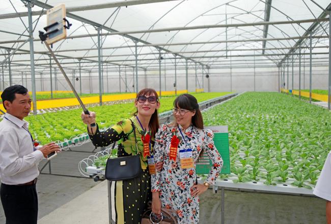 Nông dân xuất sắc hào hứng khi thăm thiên đường rau sạch VinEco Ảnh 4