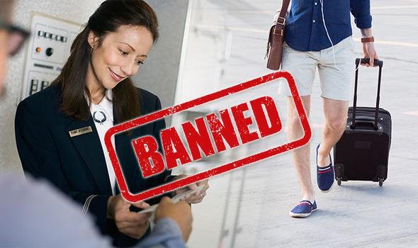 Bị cấm lên máy bay vì mặc quần short, hành khách ứng biến cực nhanh Ảnh 1