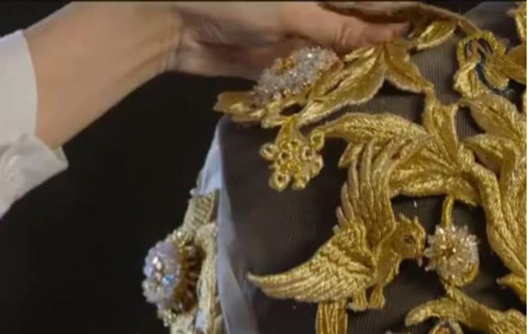 Dù lộng lẫy nhưng trang phục Nữ thần Kim Ưng Địch Lệ Nhiệt Ba vẫn chưa bằng Triệu Lệ Dĩnh và Đường Yên? Ảnh 5
