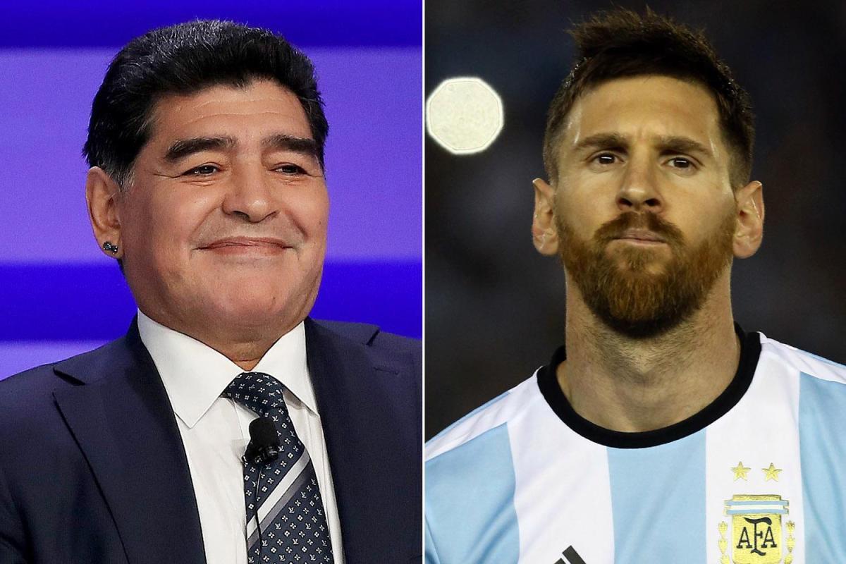 Huyền thoại Argentina bênh Messi, kêu Maradona ngậm miệng Ảnh 2