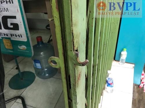 Cửa hàng Viettel bị trộm rinh két sắt trị giá hơn 1 tỷ đồng Ảnh 1