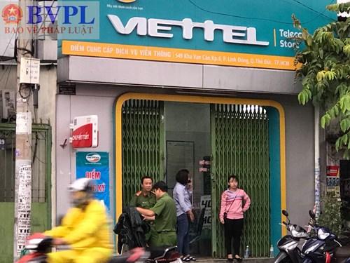 Cửa hàng Viettel bị trộm rinh két sắt trị giá hơn 1 tỷ đồng Ảnh 2