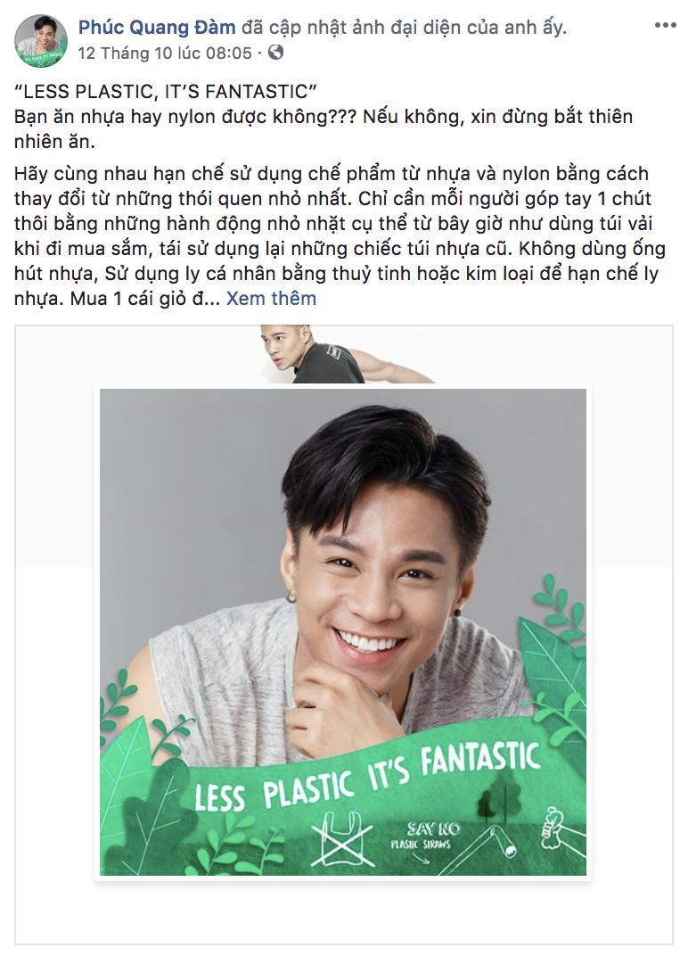 Hoa hậu Đỗ Mỹ Linh cùng loạt sao Việt đổi ảnh avatar kêu gọi bảo vệ môi trường Ảnh 5