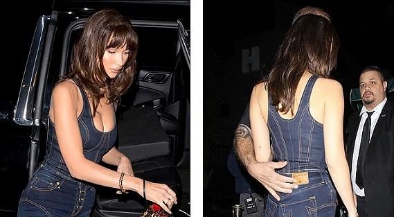 Bella Hadid phô diễn đường cong nóng bỏng với set đồ denim cá tính Ảnh 9