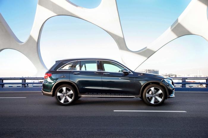 Mercedes-Benz GLC trục cơ sở dài ra mắt tại Trung Quốc Ảnh 2