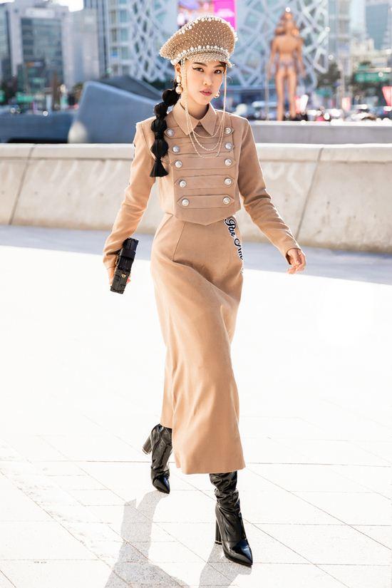 Mỹ nhân Việt lăng xê quần tụt nổi bật tại Tuần lễ thời trang Seoul Ảnh 7