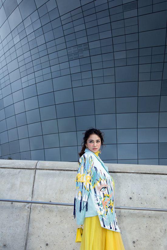 Mỹ nhân Việt lăng xê quần tụt nổi bật tại Tuần lễ thời trang Seoul Ảnh 4