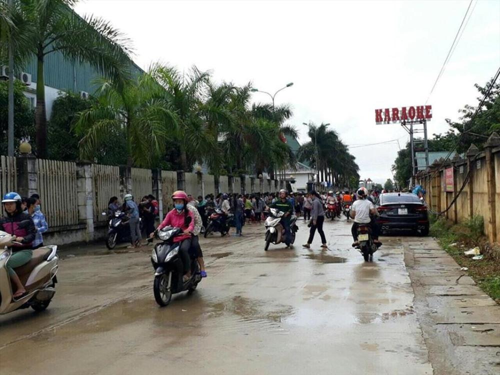 Hàng nghìn công nhân Công ty TNHH Ivory Việt Nam ngừng việc tập thể trong 4 ngày Ảnh 2