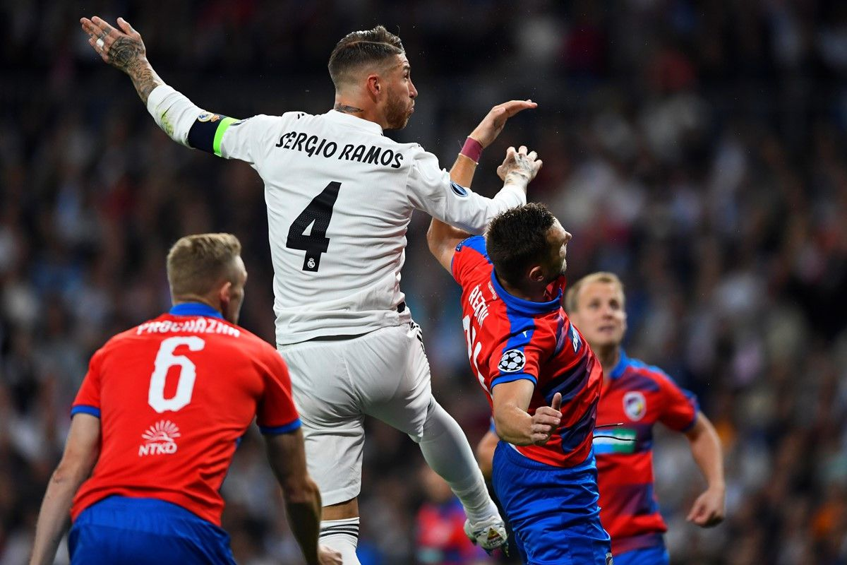 Real Madrid vs Viktoria Plzen (1-0, H2): Benzema đánh đầu mở tỷ số Ảnh 9