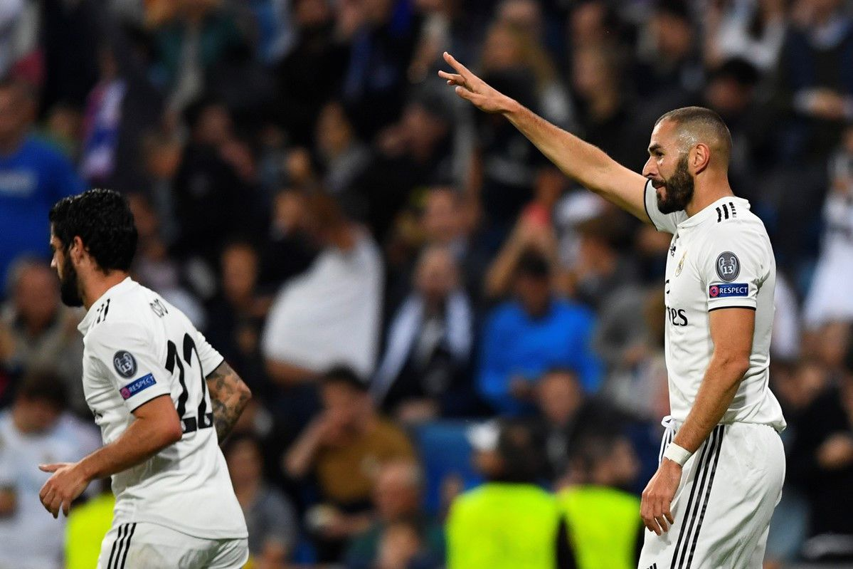 Real Madrid vs Viktoria Plzen (1-0, H2): Benzema đánh đầu mở tỷ số Ảnh 8