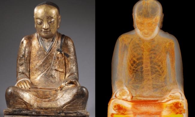 Người dân Trung Quốc yêu cầu trả tượng Phật chứa xác ướp 1.000 năm ảnh 1