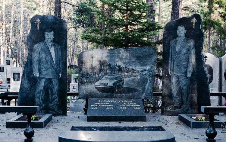 Choáng ngợp nghĩa trang của các mafia Nga Ảnh 1