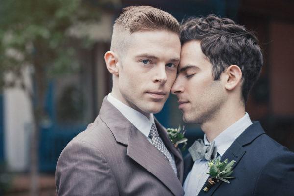 Bộ ảnh cưới đồng tính giữa đậm sắc màu thời gian giữa lòng thành phố New York Ảnh 4