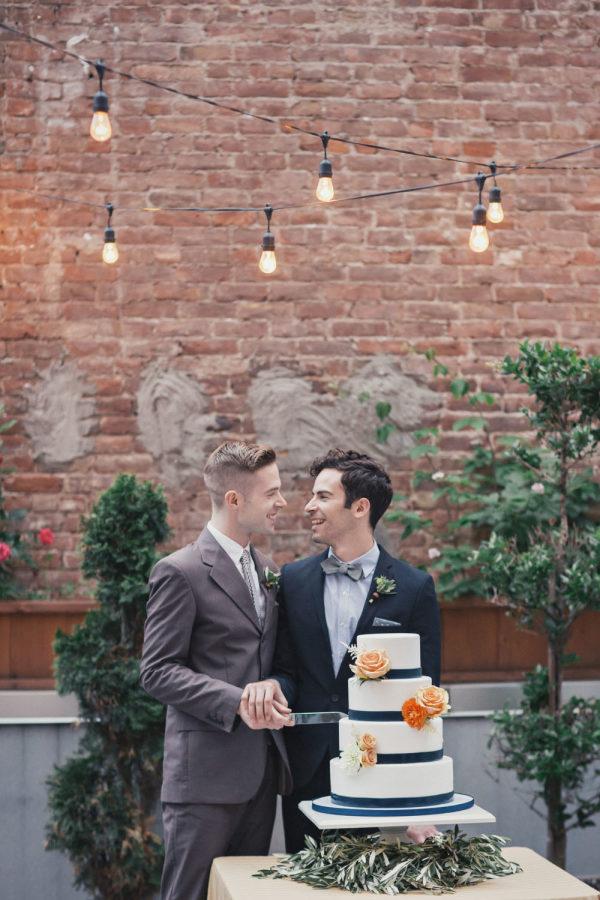 Bộ ảnh cưới đồng tính giữa đậm sắc màu thời gian giữa lòng thành phố New York Ảnh 7