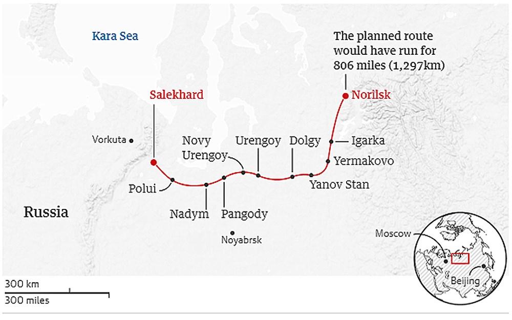 Tuyến đường sắt bị lãng quên của Liên Xô cũ đẹp buồn xao xuyến Ảnh 1