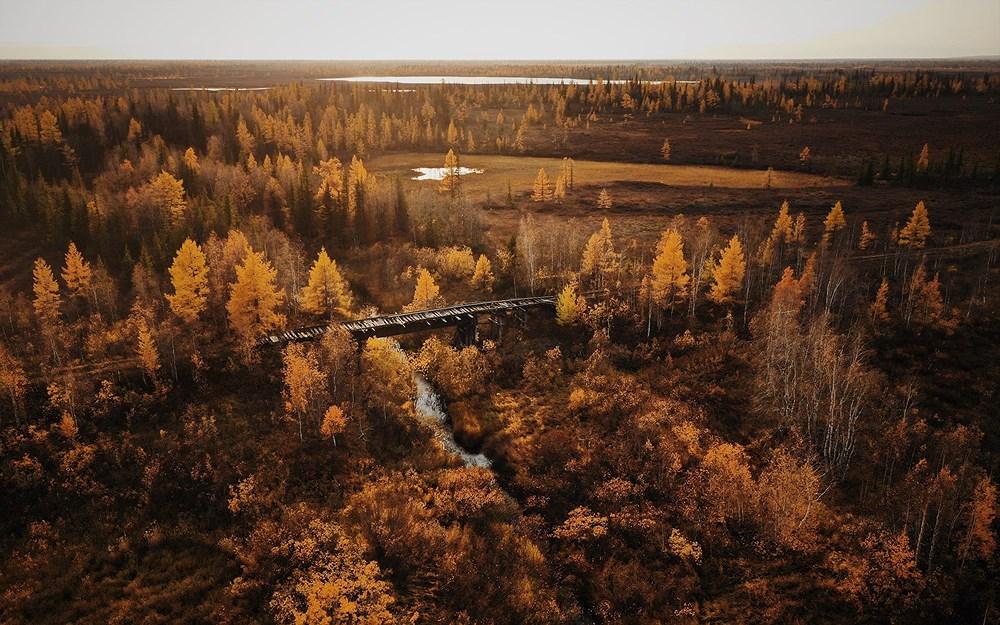 Tuyến đường sắt bị lãng quên của Liên Xô cũ đẹp buồn xao xuyến Ảnh 12