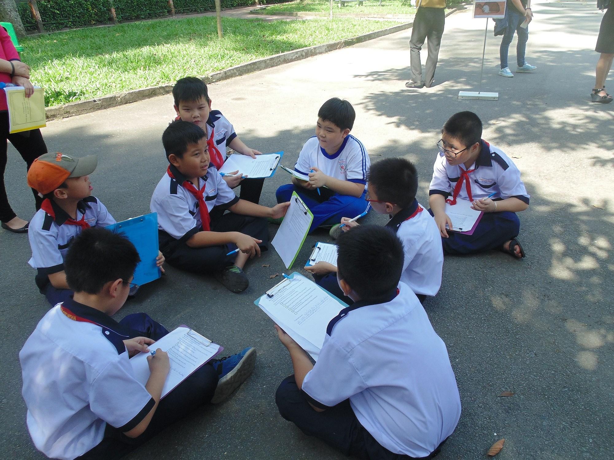 TPHCM tổ chức chương trình tiết học ngoài nhà trường bậc tiểu học Ảnh 5