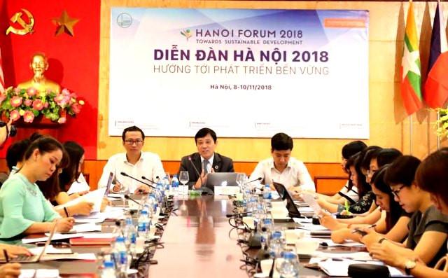Diễn đàn Hà Nội 2018 sẽ tập trung vào 5 mục tiêu phát triển bền vững Ảnh 1