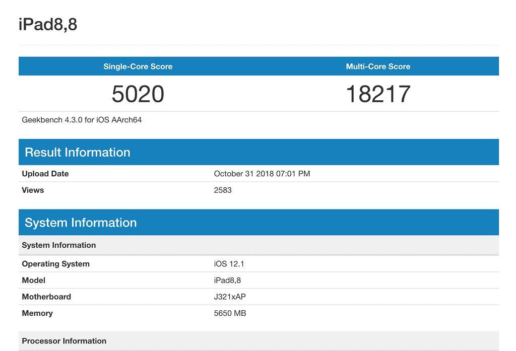 iPad Pro 2018 chạy nhanh hơn cả Macbook Pro 2017 chip Core i7 Ảnh 2