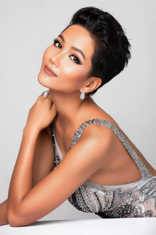 Hoa hậu H'hen Niê tìm cách tăng vòng 3 để thi Hoa hậu Hoàn vũ Thế giới Ảnh 6