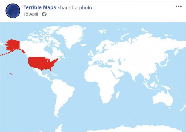 12 tấm bản đồ hài hước cho bạn cái nhìn mới về thế giới (Phần 2) Ảnh 3