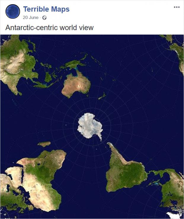 12 tấm bản đồ hài hước cho bạn cái nhìn mới về thế giới (Phần 2) Ảnh 2