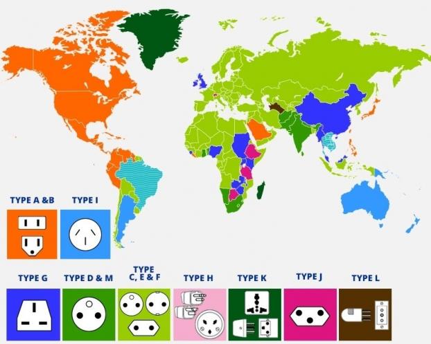 12 tấm bản đồ hài hước cho bạn cái nhìn mới về thế giới (Phần 2) Ảnh 6