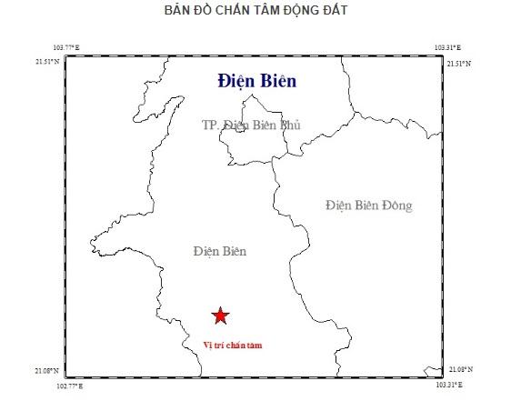 Động đất 3,9 độ richter ở Điện Biên Ảnh 1