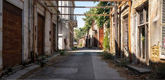 Những bức ảnh hiếm hoi về thị trấn ma tại Síp Ảnh 1