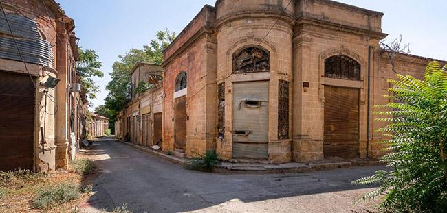 Những bức ảnh hiếm hoi về thị trấn ma tại Síp Ảnh 9