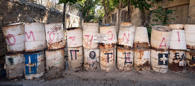 Những bức ảnh hiếm hoi về thị trấn ma tại Síp Ảnh 6