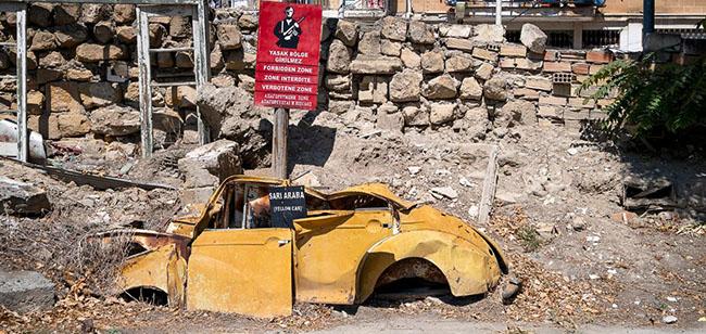 Những bức ảnh hiếm hoi về thị trấn ma tại Síp Ảnh 2