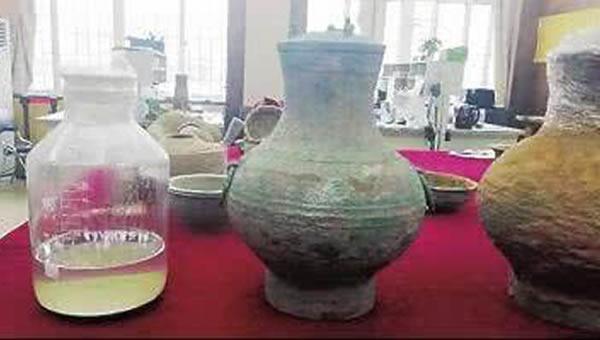 Phát hiện rượu cổ ở Trung Quốc Ảnh 1