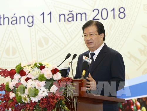 Phó Thủ tướng Trịnh Đình Dũng: Tái cơ cấu để xây dựng nông nghiệp thông minh hiện đại Ảnh 2