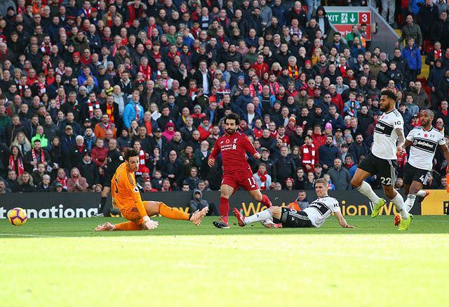 Salah lập công, Liverpool dễ dàng 'làm gỏi' Fullham Ảnh 2