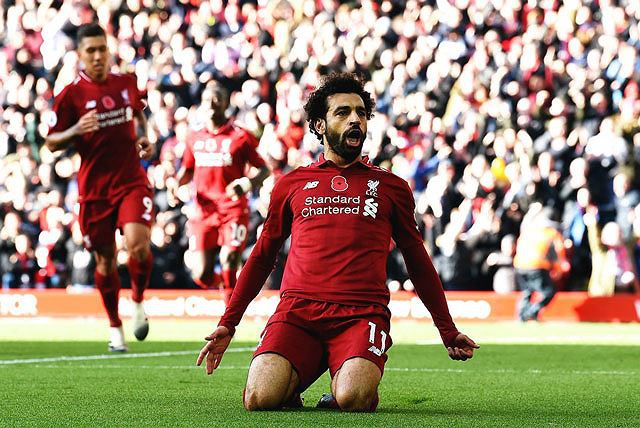 Salah lập công, Liverpool dễ dàng 'làm gỏi' Fullham Ảnh 1